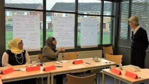 Helena Imminga geeft workshop over Geld